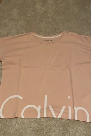 Calvin Klein Logo T-Shirt rosa