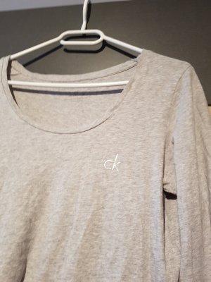 Calvin Klein Longsleeve Grau Gr. 38/M