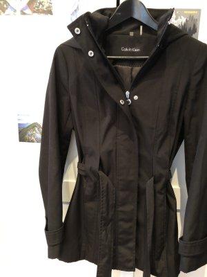 Calvin Klein Abrigo con capucha negro