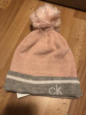 Calvin Klein Cappello a punta rosa pallido-grigio chiaro