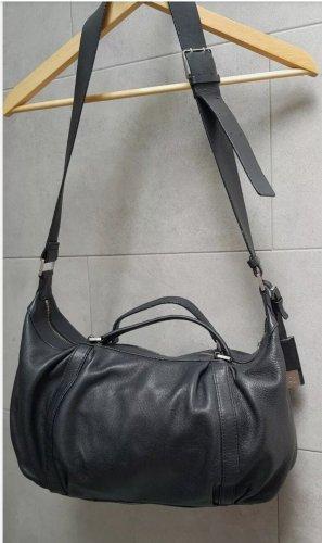 Calvin Klein Gekruiste tas zwart-zilver