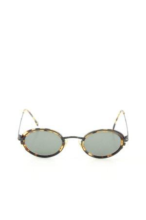 Calvin Klein Oval Sunglasses allover print casual look