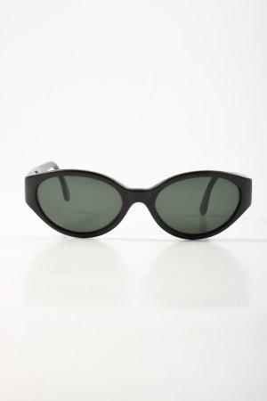 Calvin Klein Owalne okulary przeciwsłoneczne czarny W stylu casual
