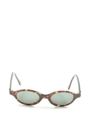 Calvin Klein ovale Sonnenbrille braun Farbverlauf Casual-Look