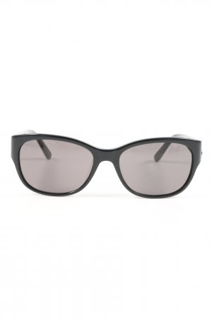 Calvin Klein Oval Sunglasses black casual look
