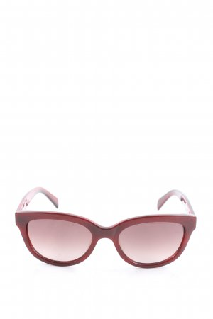 Calvin Klein Oval Sunglasses red casual look