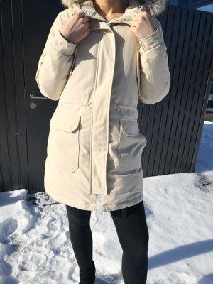 Calvin Klein Parka Mantel Jacke creme