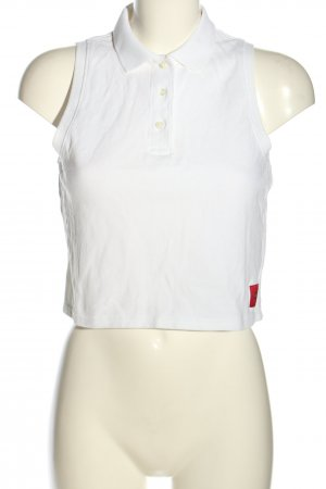Calvin Klein Polo Top weiß Casual-Look