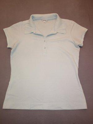 Calvin Klein Poloshirt Gr S in babyblau