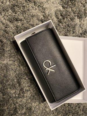Calvin Klein Portemonnee zwart-zilver