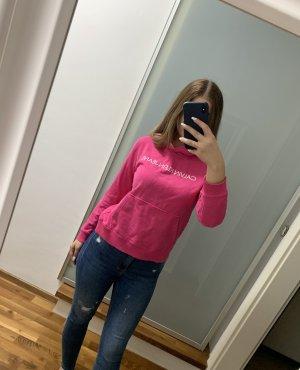Calvin Klein Maglione con cappuccio rosa