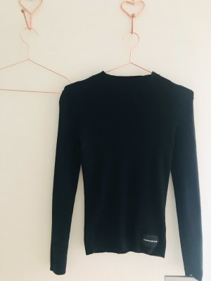 Calvin Klein Long Sweater black
