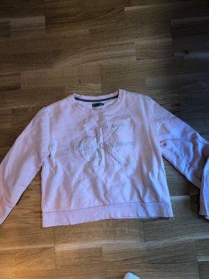 Calvin Klein Polarowy sweter różany-stary róż