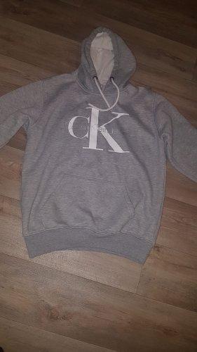 Calvin Klein Jeans Pull à capuche gris