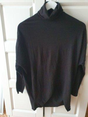 Calvin Klein Jersey de cuello alto negro