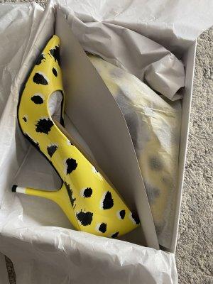 Calvin Klein Pumps Farbe Gelb Gr.39 Neu