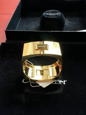 Calvin Klein Quadrat vergoldet Armreif