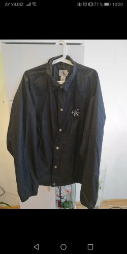 Calvin Klein Jeans Waxed Jacket black