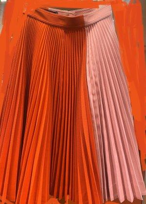 Calvin Klein Spódnica z koła czerwony-różowy