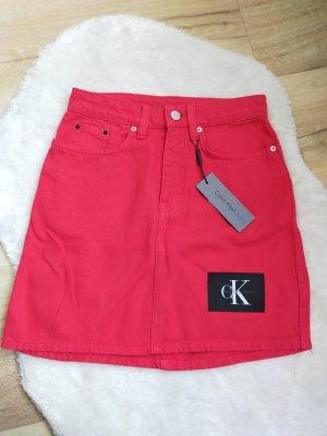 Calvin Klein Jupe en jeans multicolore