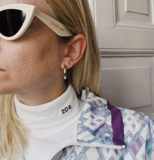 Calvin Klein Rollkragenpullover in Weiß weißer Rolli 205