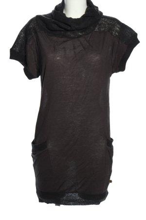 Calvin Klein Robe en maille tricotées brun style décontracté