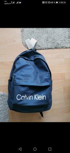 Calvin Klein Mochila de montaña azul oscuro