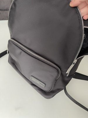 Calvin Klein Daypack black-silver-colored