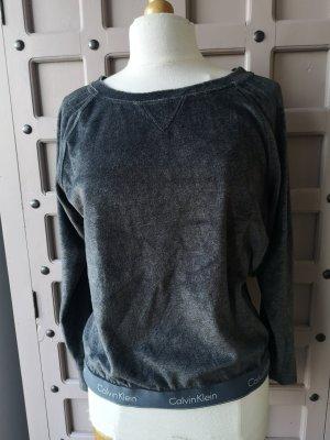 Calvin Klein Samt Pullover Gr L Wie neu