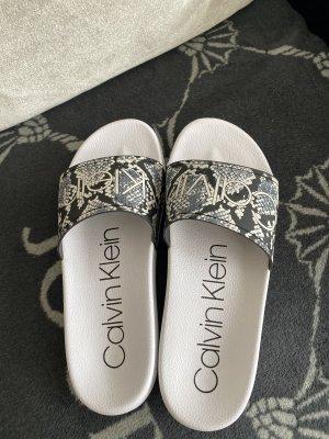 Calvin Klein Outdoor sandalen zwart-wit