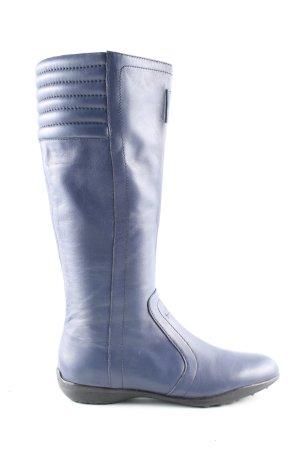 Calvin Klein Schaftstiefel blau Casual-Look