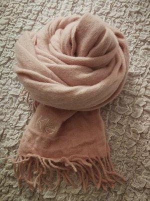 Calvin Klein Wollen sjaal rosé