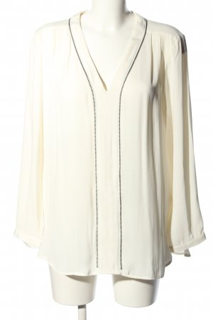 Calvin Klein Schlupf-Bluse creme Business-Look