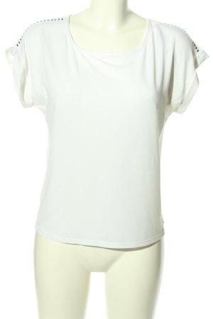 Calvin Klein Schlupf-Bluse weiß Casual-Look