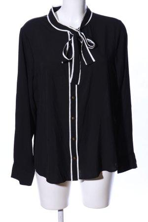 Calvin Klein Tie-neck Blouse black business style