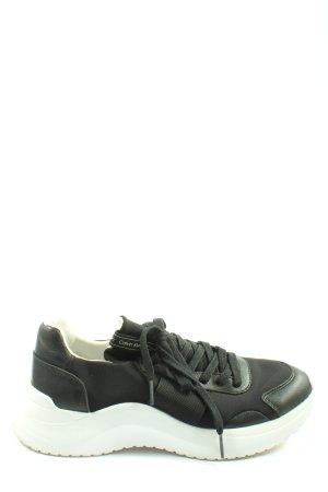 Calvin Klein Zapatilla brogue negro look casual