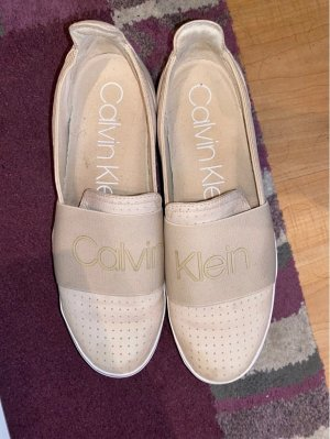 Calvin Klein Scarpa slip-on beige chiaro