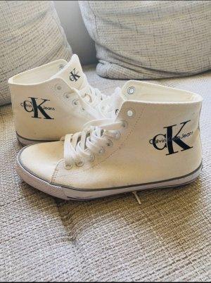 Calvin Klein Jeans Buty skaterskie jasnobeżowy-kremowy