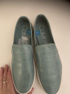 Calvin Klein Instappers lichtblauw