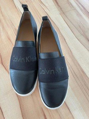 Calvin Klein Basket slip-on noir