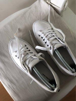 Calvin Klein Platform Trainers natural white