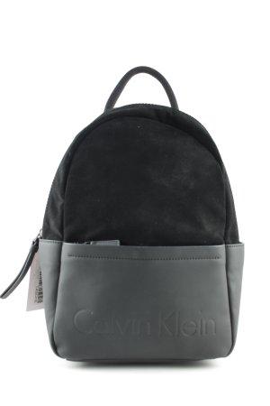 Calvin Klein Mochila escolar negro look casual