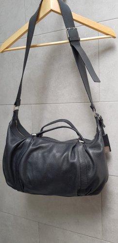 CALVIN KLEIN schwarze leatherbag Leder!