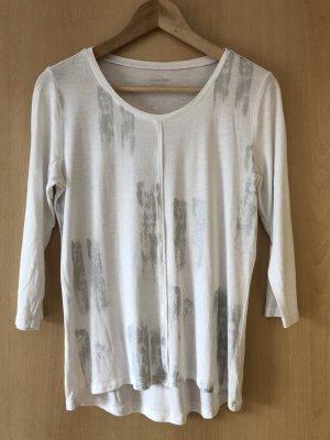 Calvin Klein T-shirt bianco-argento