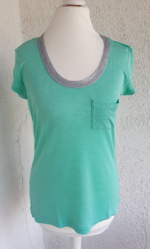 Calvin Klein Shirt mintgrün/silber Gr.XS/34 top