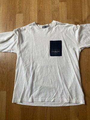 Calvin Klein Camicia oversize nero-bianco