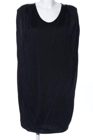 Calvin Klein Vestido estilo camisa negro look casual