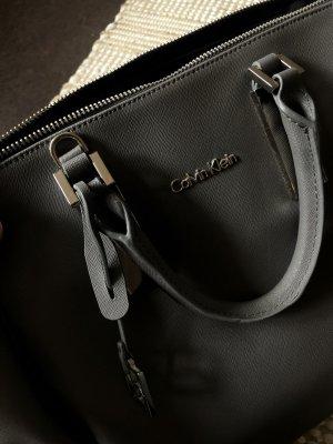 Calvin Klein Shopper grey-silver-colored