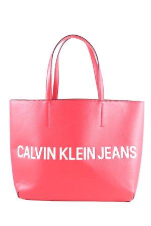 Calvin Klein Shopper Schriftzug gedruckt Casual-Look