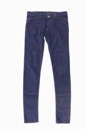 Calvin Klein Jeans skinny bleu-bleu fluo-bleu foncé-bleu azur coton
